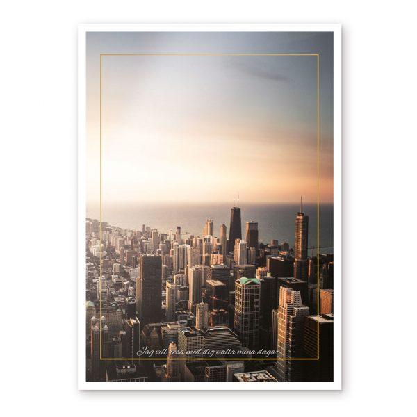 stadstavla poster affisch stad