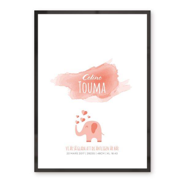 Barntavla Tavla, affisch