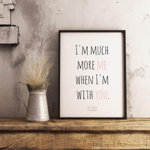 kärlek poster tavla