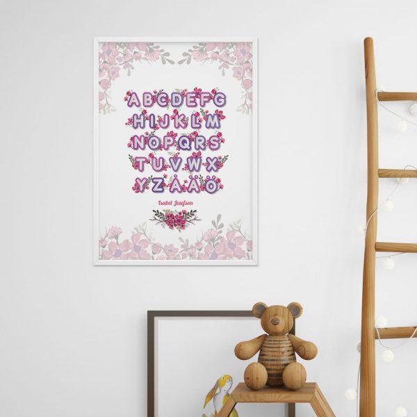 Barntavla present poster